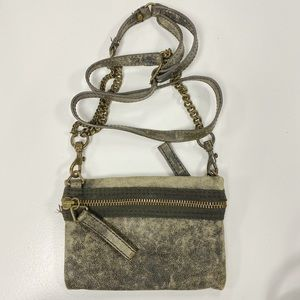 J. Crew crossbody purse with chain strap